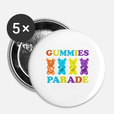 Parade Gummier parade - Buttons/Badges lille, 25 mm