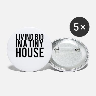 House Tiny House - Buttons klein