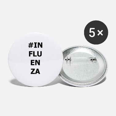 Influenza INFLUENZA - Small Buttons