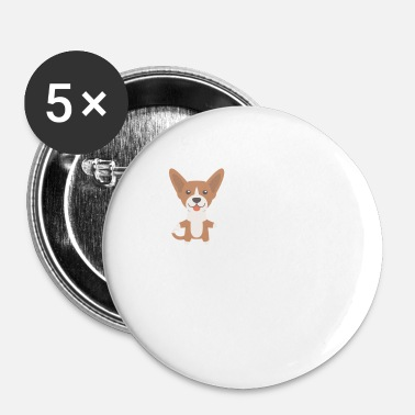 Basenji Basenji Papa - Badge petit 25 mm