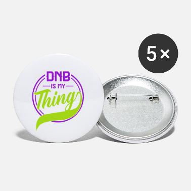 Bass DnB Lover Drum And Bass Alternative Musik Rave - Buttons klein