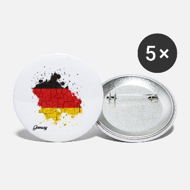 Federal Republic Of Germany Federal Republic of Germany countries outline gift - Small Buttons