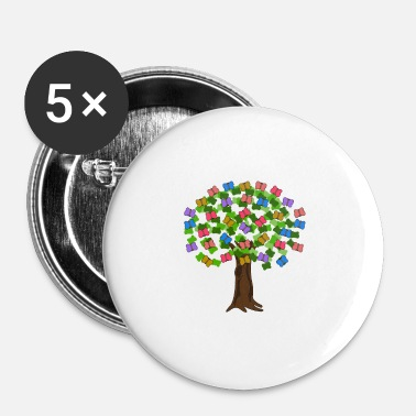Hug le Hugger - Badge petit 25 mm