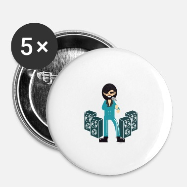Rockabilly Rockabilly - Badge petit 25 mm