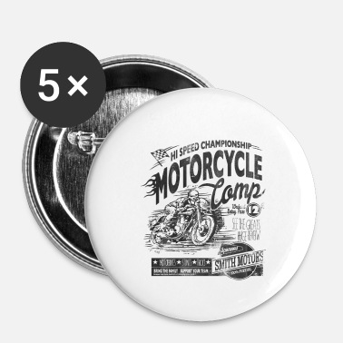Sport Automobile Fan de moto cadeau sport automobile - Badge petit 25 mm