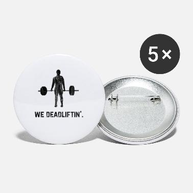 Powerlifting Motivation Powerlifting Powerlifting Deadlift Vintage - Small Buttons