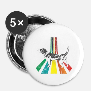 Occasion Rainbow Beagle Look d'occasion - Badge petit 25 mm