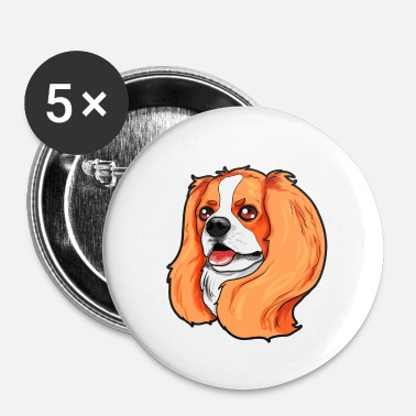 Charles Cavalier King Charles Spaniel Cocker Boykin Dog - Spilla piccola 25 mm