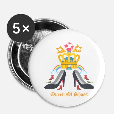 Shopping Reine des chaussures - Badge petit 25 mm