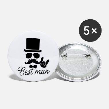 Stag Do Groom Wedding Marriage Stag do night best man - Small Buttons