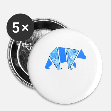Chicago Ours de glace - Badge petit 25 mm