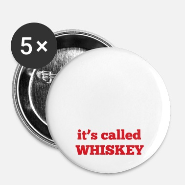 Whiskey Whiskey - Buttons klein 25 mm