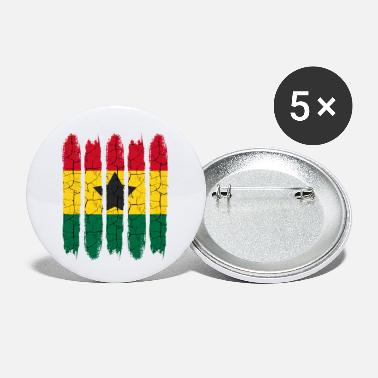 Accra Trendy Ghana National Colors Modern Accra Gift - Small Buttons