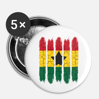 National Cadeau national Accra moderne Ghana National Colors - Badge petit 25 mm