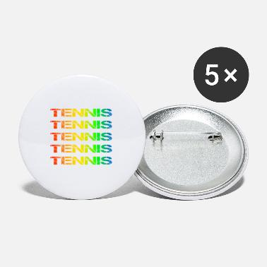 Tennis Tennis Tennis Tennis Tennis Tennis Tennis Tennis T - Small Buttons