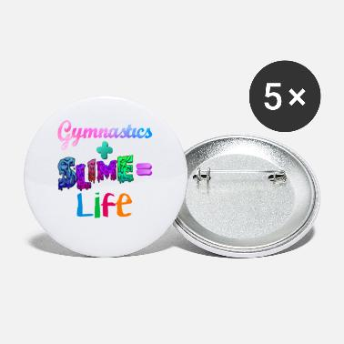Gymnastics And Slime Is Life Couleurs Athlétiques T - Petits badges