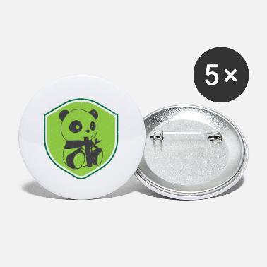 Animal Welfare Panda bear animal welfare - Small Buttons