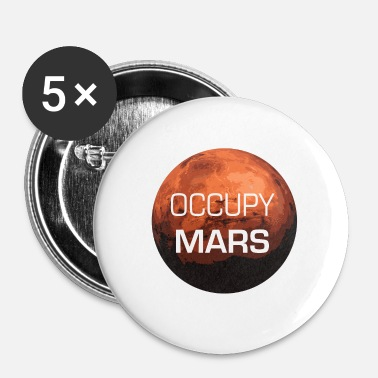 Occupy Occupy Mars - Planet - Badge petit 25 mm