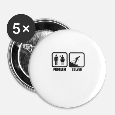 Ski Resort skihop - Buttons/Badges lille, 25 mm