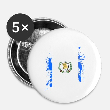 National Guatemala Amerika Tikal flag flag rejse ferie - Buttons/Badges lille, 25 mm