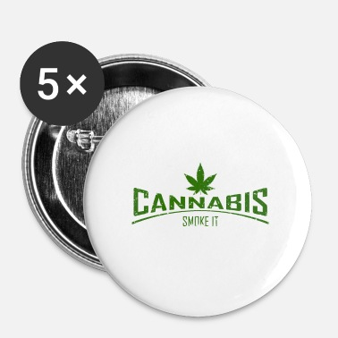 Cannabis cannabis - Badge petit 25 mm