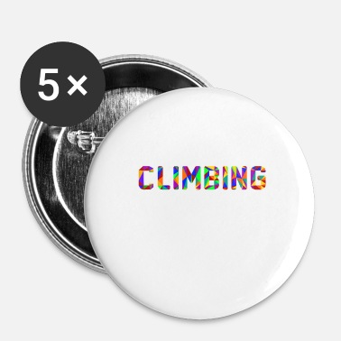 Mur I LOVE CLIMBING, tee shirt escalade, hommes femmes - Badge petit 25 mm