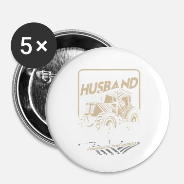 Markere Farmer Tractor Wife Gift · Mand - Buttons/Badges lille, 25 mm
