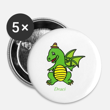 Dragon Draci - Buttons small 25 mm