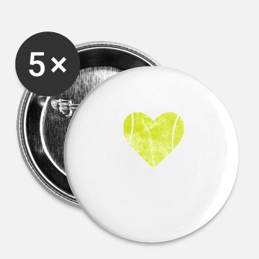 Sejr Tennis Tennis Ball Ball Sport Sport Ball Gave - Buttons/Badges lille, 25 mm