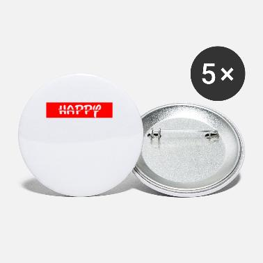 Happiness Happy / happy - Small Buttons