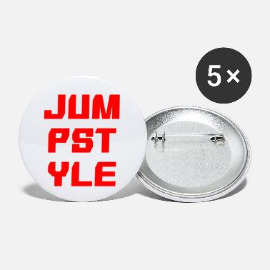 Jumpstyle JUMPSTYLE lettering - red - Small Buttons