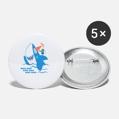 Baby Baby Shark Birthday - Small Buttons