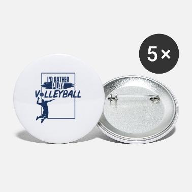 Volleyballer Volleyballer Volleyballer Volleyballer - Buttons klein
