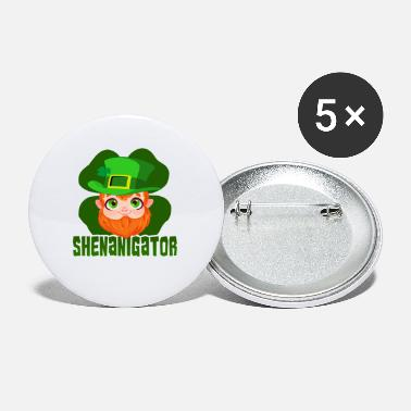 St Patricks Day Party-Hemd-Shamrock-Bier-Geschenk St. Patricks Tages - Buttons klein
