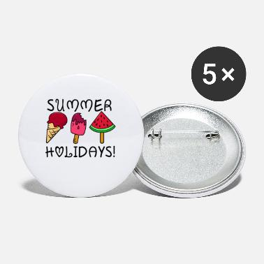 Summer Holidays summer holidays - Small Buttons