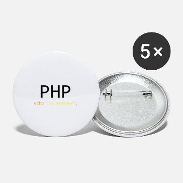 Php PHP is awesome - Small Buttons