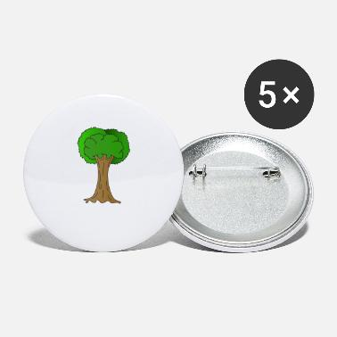 Ecofriendly Beautiful Nature Tree Tshirt Design Hugger Tree - Small Buttons