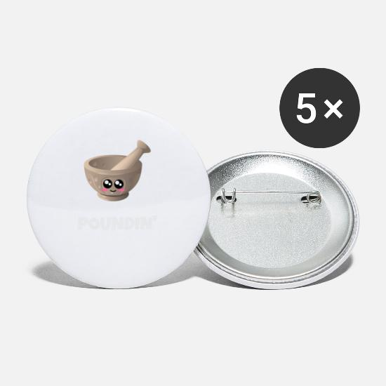 Gift Idea Buttons - I Need Some Good Pounding Funny Mortar And Pestle - Small Buttons white
