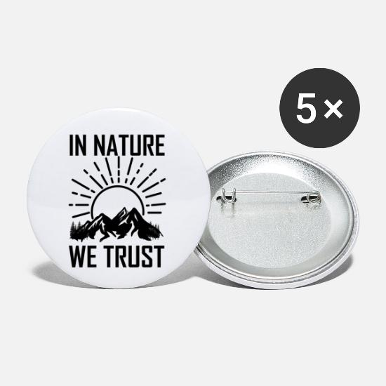 Birthday Buttons - Farm Agriculture - Small Buttons white