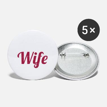 Wife The Wife - Small Buttons