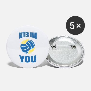 Year Of Birth volleyball - Small Buttons