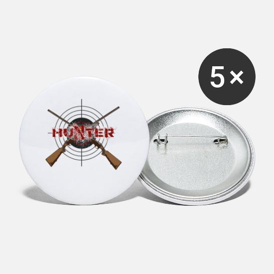 Forest Buttons - Hunter - Small Buttons white