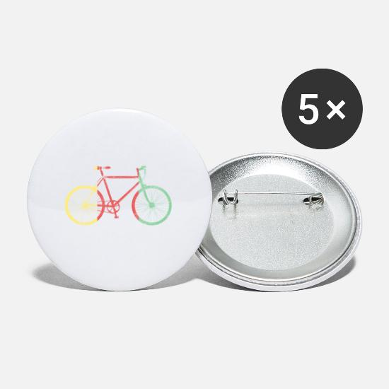 Bicyclette Buttons - Retro Bicycle Edition 2 - Small Buttons white