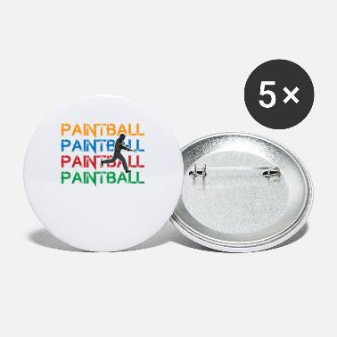 Cool Paintball Graphic Design For Hobby Paintball - Small Buttons