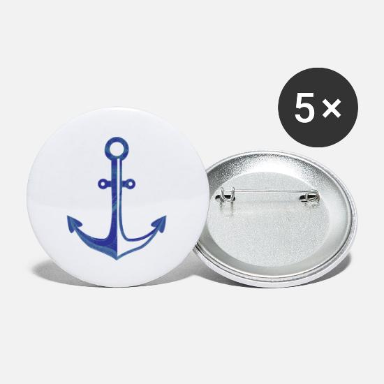 Sailboat Buttons - Nautical - Small Buttons white