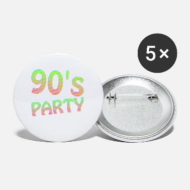 Party 90s Outfit Tshirt - 90's Party - Buttons klein