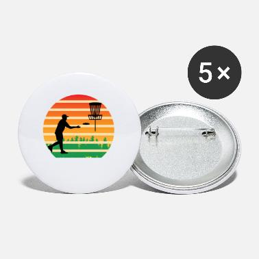 Ultimate Frisbee Player Hobby Graphic Design - Small Buttons
