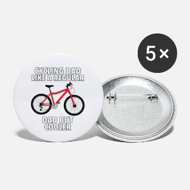Bicycle cyclist cycling cycling gift - Small Buttons