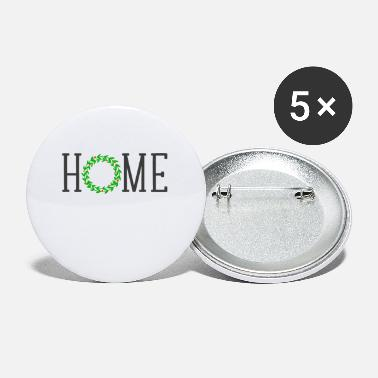 Home &amp Home christmas wreath - Buttons klein