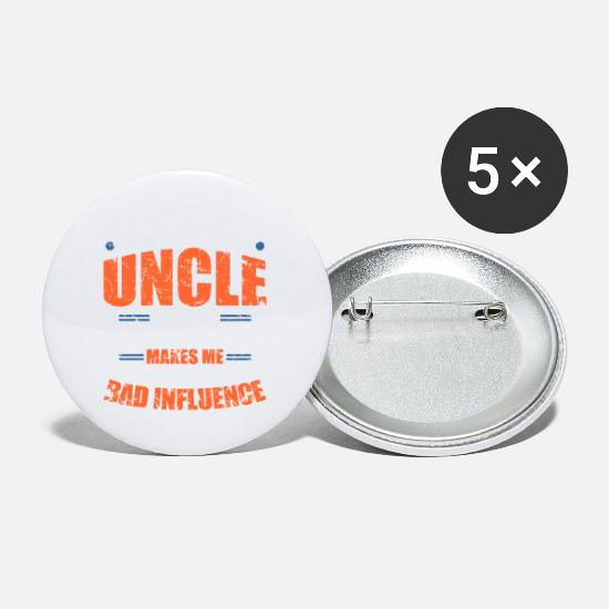 Gift Idea Buttons - Uncle Gift Gift Idea - Small Buttons white